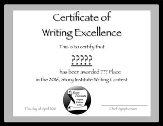 Story Institute Writing Contest